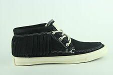 [556] Converse AS Moccasin MiD Chuck Fringe Schuhe Black Gr 37,5 UK 4,5 532064C