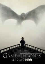 POSTER A4 PLASTIFIE-LAMINATED(1 FREE/1 GRATUIT)* SERIE GAMES OF THRONES.THYRION