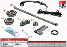 TIMING CHAIN KIT FOR NISSAN PRIMERA (P11) 1.8 16V (QG18DE) 08/99-12/01 TCK 32