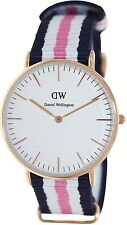 Daniel Wellington Women's Southampton 0506DW Blue Nylon Quartz Watch