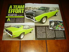 1974 MERCURY COMET 427 FUEL INJECTION HOT ROD   ***ORIGINAL 2010 ARTICLE***