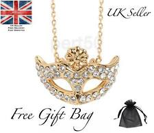 High Quality Fifty Shades Gold Mask Necklace Shades of Grey 50 BDSM Sexy UK Sex