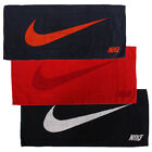 "Nike Swoosh JACQUARD towel Medium bath sports 14"" x 32"""