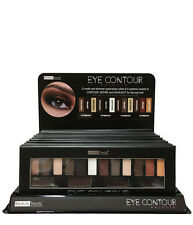 Beauty Treats Eye Contour Palette 12 Matte Shimmer Eyeshadow Eyebrow Cream