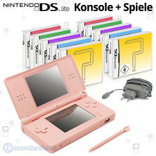 Nintendo DS Lite Hand held Console + Games / also for GB Advance Games