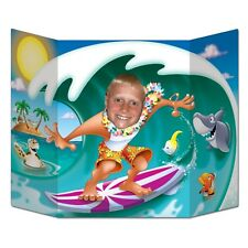 Surfer Dude Photo Prop - 94 x 64 cm - Hawaiian Surfs Up Party Cutouts & Standin