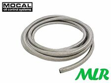 MOCAL GRH-8 -8JIC AN OIL COOLER STAINLESS STEEL BRAIDED HOSE PIPE AEROQUIP ZY