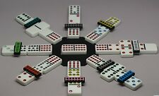 Mexican Train Track 10 Pieces Domino Game Public Markers Assorted Colors Chicken
