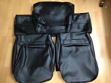 VW 181 portavasi Coprisedili Nero = 2 sedili anteriori, 1 sedile posteriore e 2 contrari POSTERIORE