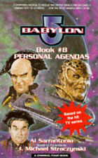 """Babylon 5"": Personal Agendas (A Channel Four Book), Al Sarrantonio"