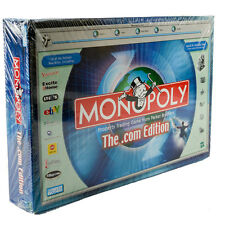 New & Sealed Monopoly Board Game The .Com Edition Dot Com Parker Brothers 41443