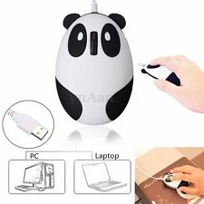 800-dpi USB Optical Cute Panda Mouse Mice For PC Laptop Notebook Computer Office