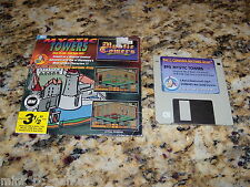 Mystic Towers (PC, Program) MS-Dos 3.5) Inch Floppy Disk