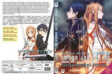 Sword Art Online (1 - 49End + Extra Edition + Offline SP) ~ 3-DVD ~ English Vers