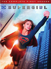 Supergirl:The Complete First Season 1 One (DVD,2016,5-Disc Set) NEW DC
