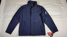 NWT NAUTICA Full Zip Peacoat  Jacket  Mens Size Small Coastal Isles Dark Blue