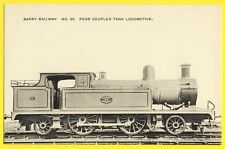 cpa UNITED KINGDOM The BARRY RAILWAY COMPANY Four Coupled TANK LOCOMOTIVE N° 90