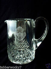 Crystal Glass Pitcher Oaks Invitational Golf Trophy