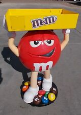 { Rare Not Sold In Stores- Red M&M Candy Character Large Store Display