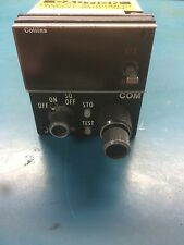 Collins CTL-22 COM Control 622-6520-003 Serviceable Fresh Tag
