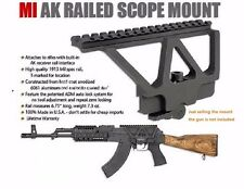 Quick Detach QD AK Mount Gun Rail Scope Mount Base Picatinny Side Rail Mounting