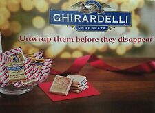 Ghirardelli Peppermint Squares Limited Edition, 16.07oz per bag x one only
