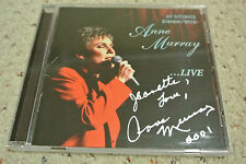 Rare Anne Murray CD - An Intimate Evening with Anne Murry Live with Signature