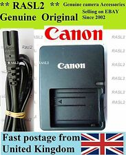 Chargeur Canon authentique LC-E5e LP-E5 EOS 450D 500D 1000D Rebel T1i XS XSi kiss x2