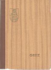 Greiz, eine Mappe mit 12 alten schwarz-weiß Fotografien von 1970