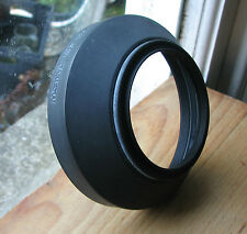 Mamiya M645 rubber  67mm screw in  Lens hood m67 no.3