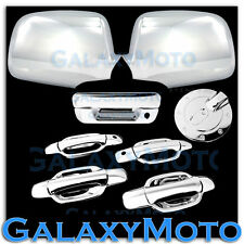 05-12 Chevy Colorado+Canyon Chrome Mirror+4 Door W.KH+Tailgate Handle+GAS Cover