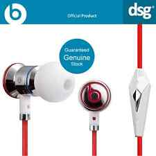 100% Original MONSTER BEATS BY DR DRE Ibeats en Auriculares Auriculares Oído Blanco