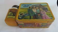VINTAGE  LITTLE HOUSE ON THE PRAIRIE LUNCH BOX / THERMOS  1978   SET