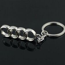3D Metal Car Logo keyring keychain key chain pendant Key Holder for AUDI (A008)