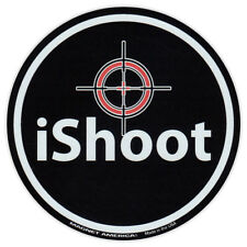 Round Magnet - iShoot - Gun Owners - Pro Gun Rights, 2nd Amendment