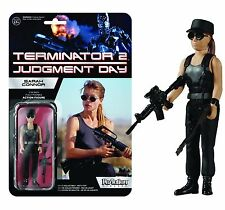 "2015 FUNKO REACTION TERMINATOR 2 JUDGMENT DAY SARAH CONNOR 4"" FIGURE MOC"