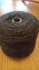 100% Wool Super Chunky,berber,knitting,rug,craft,Yorkshire Spun.1000g Charcoal.