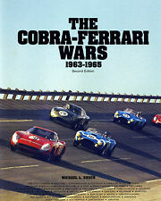 THE COBRA-FERRARI WARS 1963-1965, Signed by Author, Racing,Shelby, Le Mans