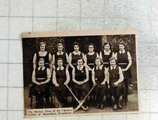 1939 Hockey Team Of The Cheshire School Of Agriculture Reaseheath