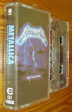 METALLICA RIDE THE LIGHTNING ORIGINAL VERTIGO MUSIC TAPE CASSETTE 1984