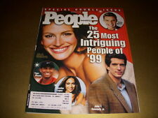 PEOPLE Magazine, December 31, 1999, 25 MOST INTRIGUING PEOPLE, JULIA ROBERTS!