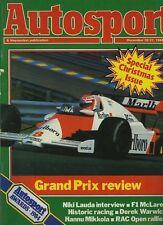 Autosport Dec 20th 1984 *Porsche 956 & Sunoco 917-30*