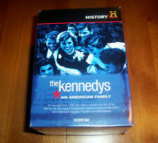 History Channel Presents The Kennedys: An American Family Kennedy 10 DVD SET NEW