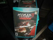 NINJA GAIDEN 3: RAZOR'S EDGE FOR NINTENDO WII U BRAND NEW AND FACTORY SEALED!!
