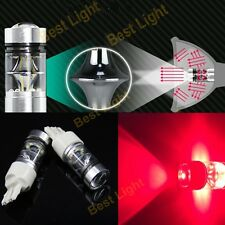2x T20 7443  RED High Power  Bulb OSRAM  Led Car Reverse/Turn/Brake/Tail Light