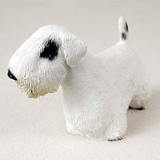 Sealyham Terrier Hand Painted Dog Figurine Statue