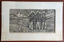 Maine Maritime Academy Arts and Artifacts Military Print Summer 1892