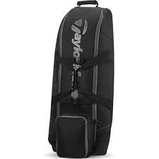 """NEW 2017"" TAYLORMADE PLAYERS PADDED & WHEELED GOLF TRAVEL COVER / FLIGHT BAG"