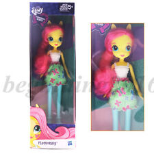 "Original My Little Pony Equestria Girls 9"" Fluttershy Doll Figure Toy Boxed New"