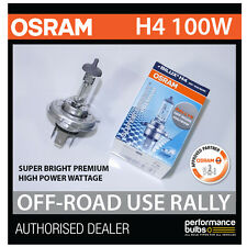 NEW! 62204SBP OSRAM H4 100/90W SUPER BRIGHT PREMIUM OFF-ROAD RALLY BULB (x1)